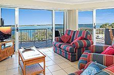 Three Bedroom Beachfront Accommodation in Caloundra